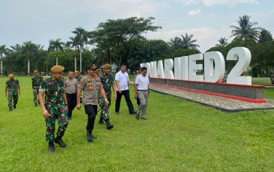Kapolresta Deliserdang Silaturahmike Danyon Armed 2/105