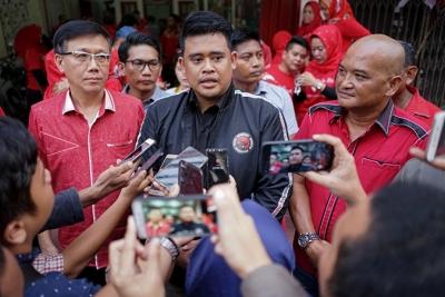 Bobby Nasution Sudah Kirim 3 Nama Sebagai Calon Wakil