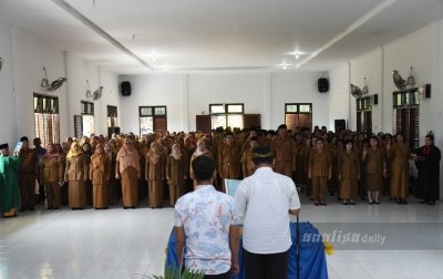 Pemkab Batubara Lantik 240 Kepala Sekolah