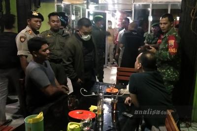 Antisipasi Penyebaran Corona COVID-19, Polres Langkat Patroli Gabungan
