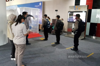 Tiba di Bandara Kualanamu, 35 Siswa Sekolah Inspektur PolisiLangsung Diisolasi