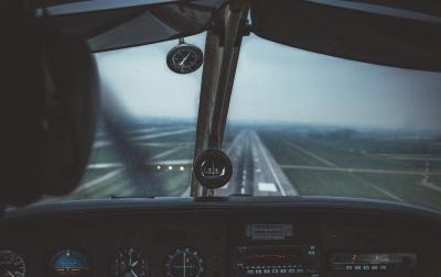 Dampak COVID-19, Penerbangan di Bandara Aek Godang Sepi