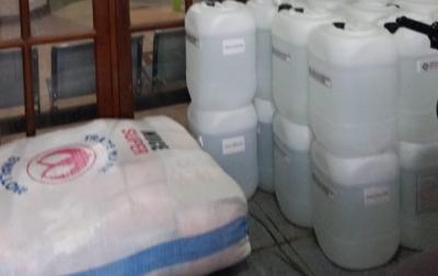 Masyarakat Aceh di Perantauan Kirim 2 Ton Disinfektan