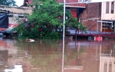 Banjir Rendam 9.285 Rumah di Kabupaten Bandung