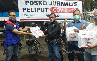 Pertamina Berbagi dengan Jurnalis di Medan