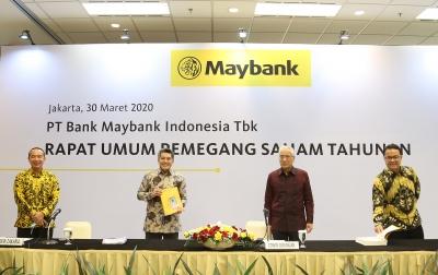 Maybank Bukukan Laba Bersih Rp 1,8 Triliun pada 2019