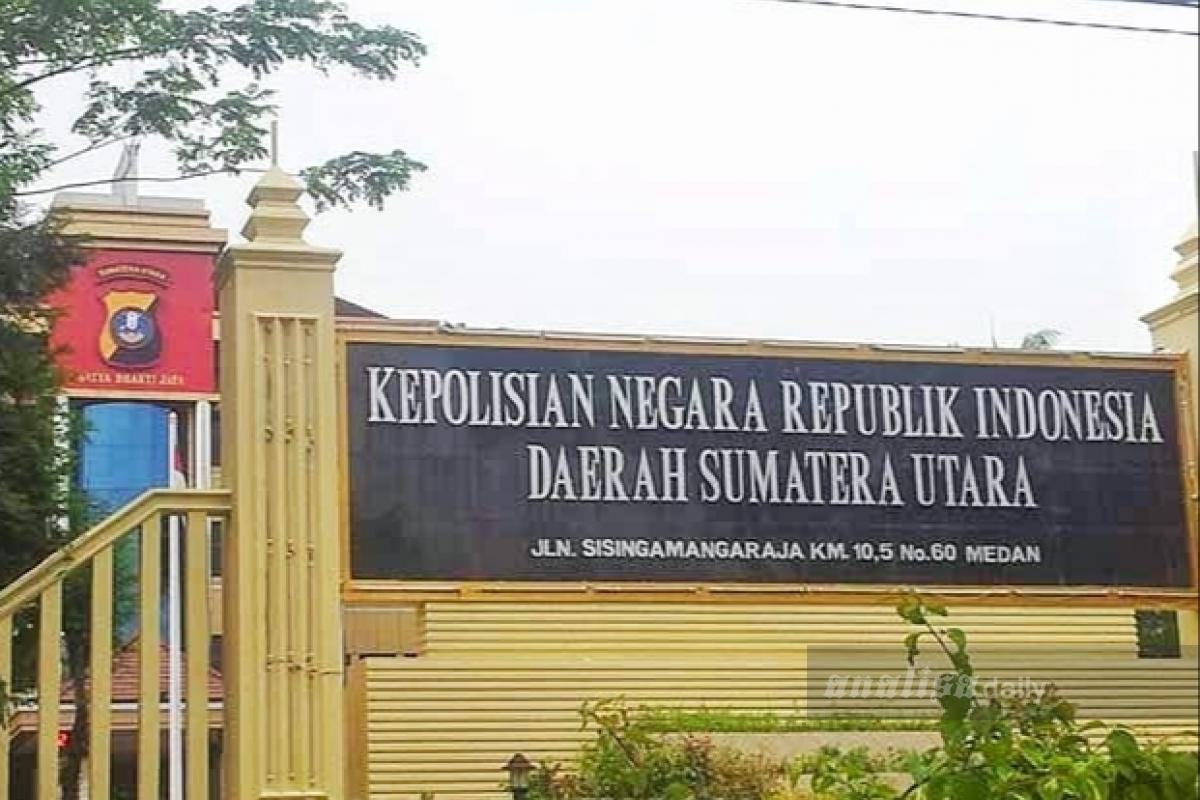 Pegawai di Polda Sumatera Utara Positif Terpapar Corona