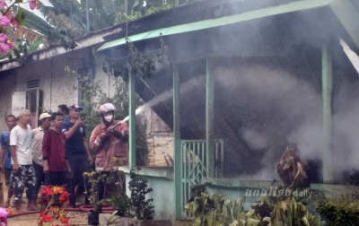 Satu Rumah di Galang Terbakar, Tidak Ada Korban Jiwa