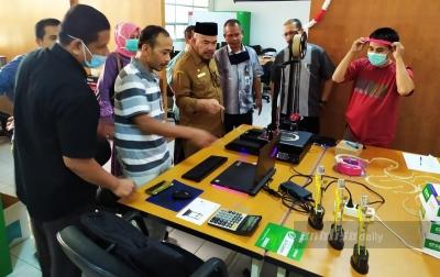 Pelajar Asal Banda Aceh Ciptakan Alat Pelindung Diri