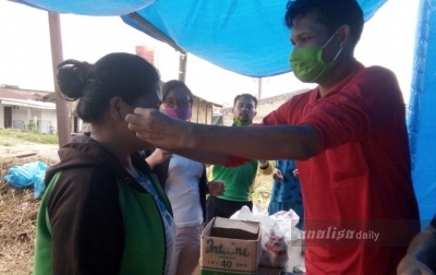 Kades Sitinjo 2 Gunakan Dana Desa untuk Beli Masker
