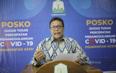 Jumlah ODP Terkait COVID-19 di Aceh Sebanyak 1.111