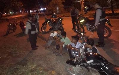 Jam Malam Dicabut, Balapan Liar Kembali Marak di Banda Aceh