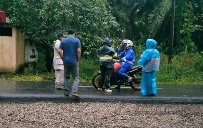 Pihak Kecamatan Sosa Timur Perketat Penjagaan Perbatasan dengan Riau