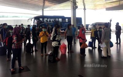 Lagi, 42 TKI Diisolasi di Medan Dipulangkan ke Daerah Asal