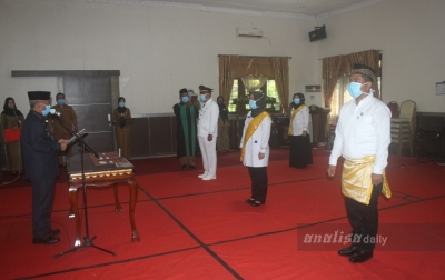 Pemkab Padanglawas Rotasi 6 Kepala Puskesmas di Tengah Pandemi COVID-19