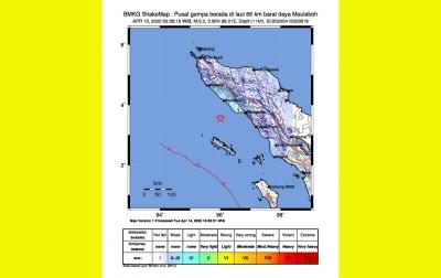 Gempa Bumi Mengguncang Banda Aceh