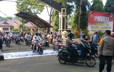 Polres Langkat Bagikan 1.500 Paket Sembako