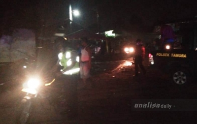 Warung Kelontong di Tanjungmorawa Terbakar, 2 Orang Terluka