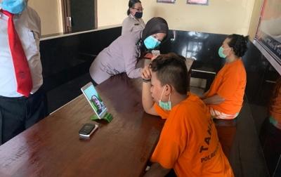 Polrestabes Medan Berlakukan Besuk Tahanan Online
