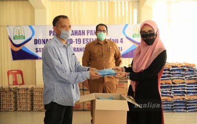 Bantuan Sembako Untuk Mahasiswa Asing dan Luar Daerah di Aceh