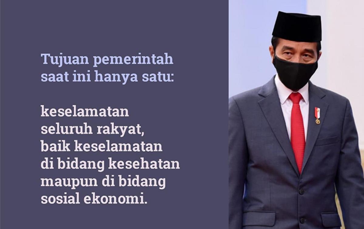 Jokowi: Tidak Mudik Cara Bijak Lindungi Keluarga dari COVID-19