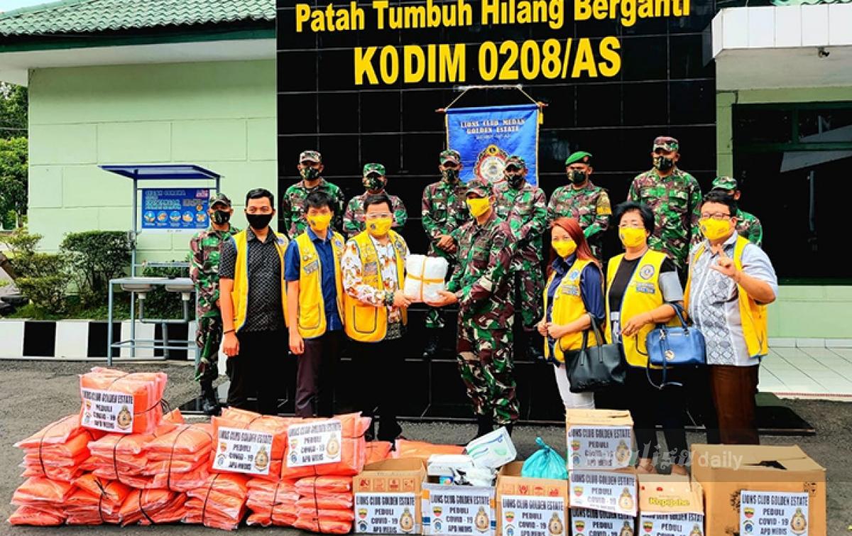 LCGE Berikan Bantuan APD untuk Puskesmas di Daerah Terpencil