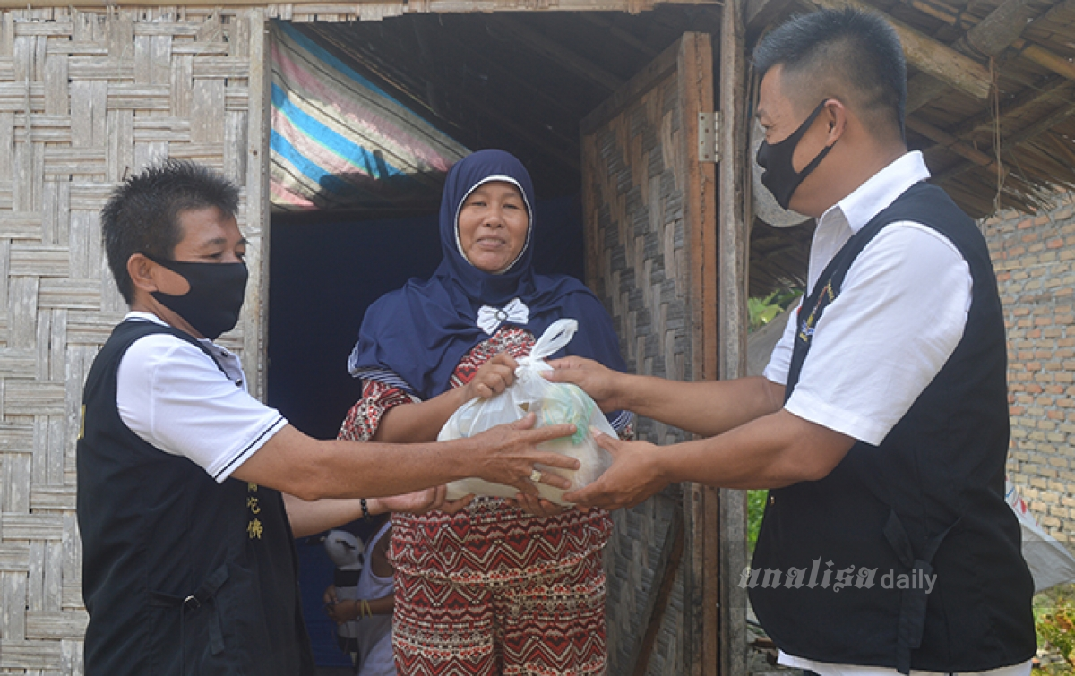 Aksi Kemanusiaan, Majabumi Deliserdang Salurkan Sumbangan Sembako