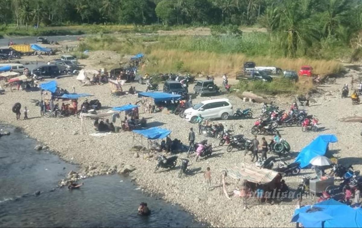 Sungai Siraisan Jadi Alternatif Wisata Masyarakat Palas