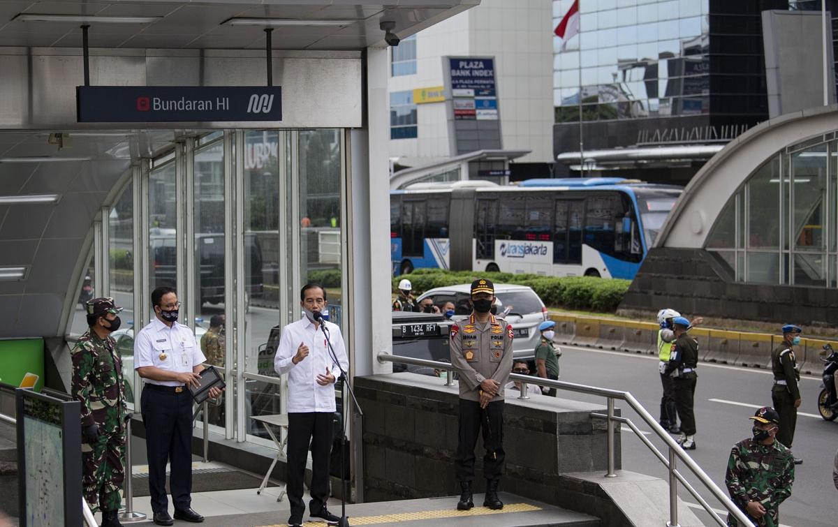 Foto: Presiden Tinjau Kesiapan Prosedur New Normal