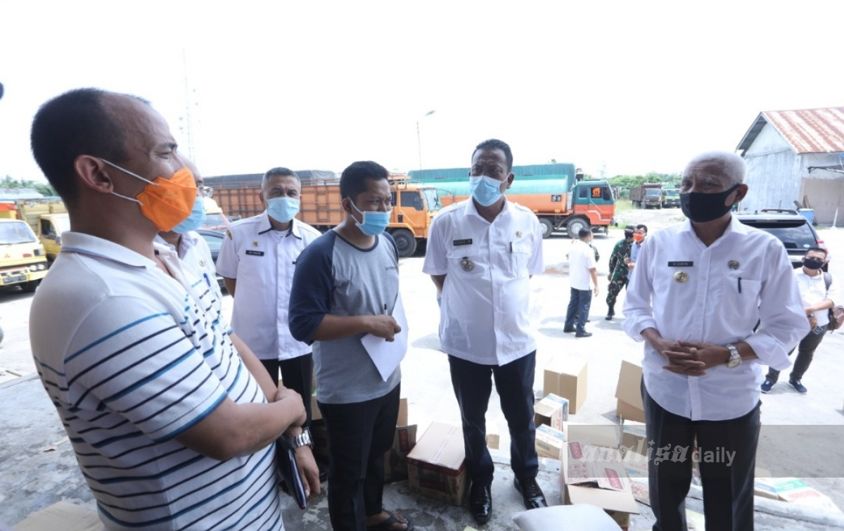 Bupati Asahan Minta Bantuan TNI/Polri Awasi Penyaluran Bantuan Sembako