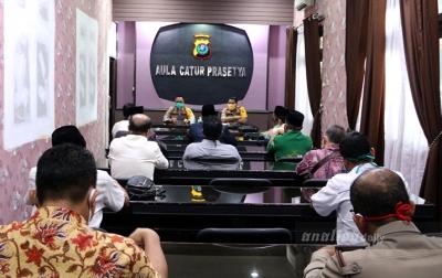 Polresta Deliserdang Bersama FKUB Sepakat Jaga Kamtibmas