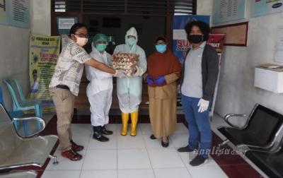 F-JKT Beri Bantuan Nutrisi ke Puskesmas di Zona Merah COVID-19