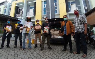 PFI Medan dan XL Axiata Berbagi Sembako di Bulan Ramadan