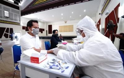 Antisipasi COVID-19, Poltekpar Medan Rapid Test Pegawai