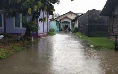 Pascabanjir Enam Desa di Banda Aceh, Genangan Air Belum Surut