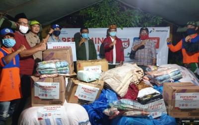 Pertamina Peduli Salurkan Bantuan Banjir di Aceh Besar