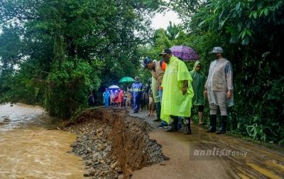 Lokasi Wisata di Aceh Besar Rusak Diterjang Banjir