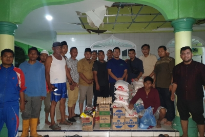 Cepat Tanggap, BASARA Salurkan Bantuan Korban Bencana Angin Puting Beliung