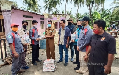 Darma Wijaya Bantu Korban Bencana Puting Beliung