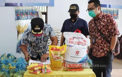 Bantuan Sembako Disalurkan ke Masyarakat Sekitar Bandara Kualanamu