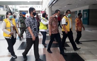 Sidak ke Bandara Kualanamu, Ketua DPRD Deliserdang Pastikan Tak Ada Mudik