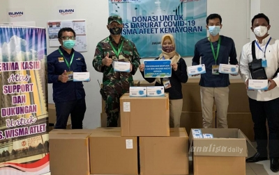 Tangani Pandemi Covid-19, AP I Salurkan Bantuan Senilai Rp 5,4 Miliar