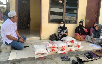 Belum Kebagian Bantuan, Warga Medan Denai Curhat ke Aulia Rahman