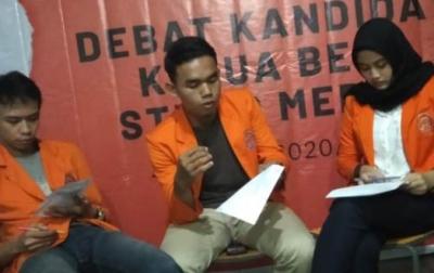 Debat Calon Ketua BEM STIK-P Medan Berlangsung Online
