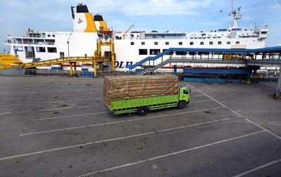 Foto: Pelabuhan Merak Sepi