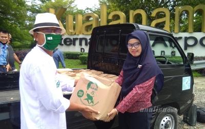 PKB Berikan Bantuan ke Pekerja Bandara Kualanamu Terdampak Covid-19