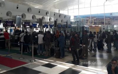 Penumpang Pesawat Terbang di Bandara Kualanamu Kian Ramai