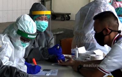 Rapid Test Kedua, 14 Karyawan Supermarket di Jalan Gatot Subroto Negatif