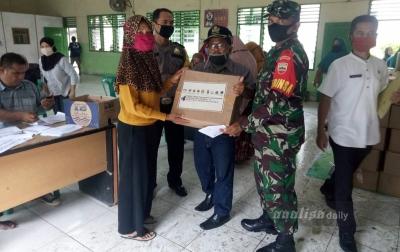 Bantuan Sosial dari Pemprov Sumut Disalurkan
