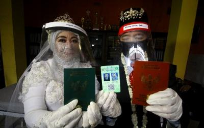 Foto: Pernikahan di Tengah Pandemi Covid-19